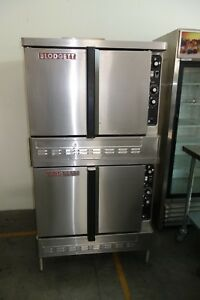 Blodgett Double Stack Convection Oven Gas Convection Oven