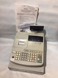 Royal 480nt Cash Register Comes With All Keys And Manual
