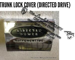 New 1958 1959 Lincoln Trunk Key Lock Cover directed Drive Bak 5743603 c