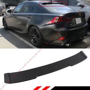 R Style Rear Window Roof Spoiler Visor For 2014 20 Lexus Is200 Is300 Is250 Is350