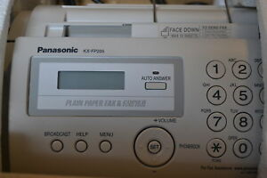 Panasonic Printers Supplies Kx Fp205 Thermal Transfer Fax Copier Corded No
