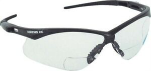 Glasses Safety Blk clr 2 5 Rx no 3013308 Jackson Safety Products 3pk