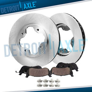 Front Brakes Rotors Ceramic Pads 1990 1991 1992 1993 1994 1997 Accord 2 2l
