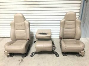06 Ford F250 Super Duty Used Front Rear Crew Cab Lariat Power Leather Seats