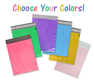 14 5 X 19 12x15 5 10x13 Poly Mailers Self Sealing Shipping Bag Envelopes Pink