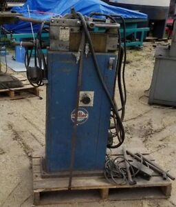 20 Kva Miller Portable Spot Welder Model mps 20 Aft W foot Pedal 230v 1 Ph