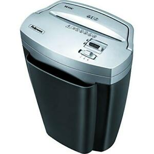 Fellowes Powershred W11c 11 sheet Cross cut Paper And Credit Card Shredder With