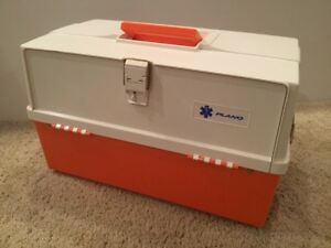 Plano Extra Large 3 tray Medical Box 747004 Ems Emt Medical Supply Storage Case