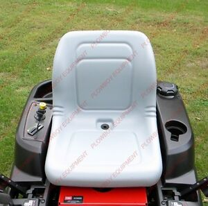 Lawn Garden Mower Tractor Seat Gray For Hustler Ztr Zero Turn 601807 031484