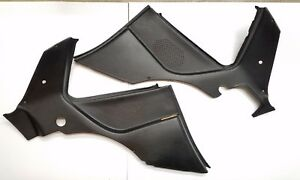 Excellent Porsche 944 Rear Speaker Speaker Trim Panels Pair Left And Right Black