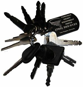 Forklift Heavy Equipment construction Ignition Key Set