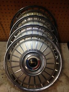 Ford Galaxie Cougar Falcon 14 Hubcaps