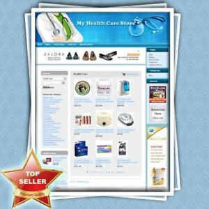 Health Care Store Earn Great Online Income With Amazon Google Adsense Website