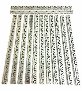 Lot Of 13 Ilsco N869 Nb 16 Tin Plated Copper Neutral Ground Bar 12 75 Long