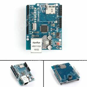 Ethernet Shield W5100 R3 Network Expansion Board For Arduino Uno Mega2560 Usa
