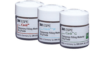Dental 3m Espe Cavit W g p Temporary Filling Material 28g Paste Lot 3 Bottles