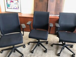 Executive Chair By Steelcase Think In Black Color 2008