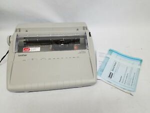 Brother Daisywheel Electronic Correcting Typewriter Gx6750 Great Condition