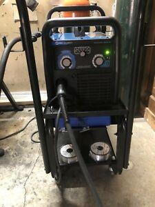 Miller Millermatic 211 Mig Welder With Advanced As And Running Gear 951603
