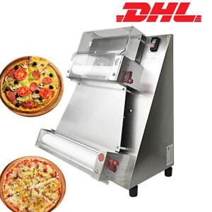 Dhl Automatic Pizza Bread Dough Roller Sheeter Machine Pizza Making Machine 370w