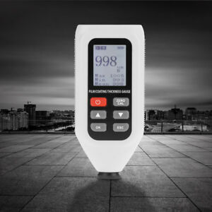 Ht 128 Digital Coating Thickness Meter Gauge Painting Paint Thickness Tester Pk