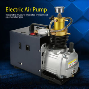 High Pressure 40mpa Water Cooled Electric Air Compressor Pump System eu Plug pk