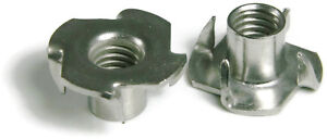 316 Stainless Steel T Nuts All Sizes Qty 100