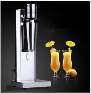 Steel Single Head Milk Shake Machine Electric Bubble Tea Mixer 220v Vstainless