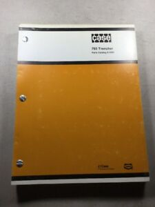 Case 760 Trencher Parts Catalog