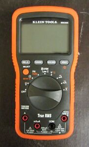 Klein Tools Mm2000 No Leads Electrician s Hvac Multimeter