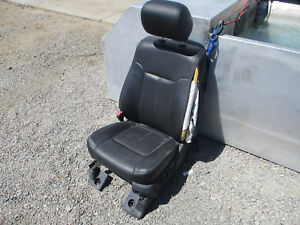 2014 Ford F 250 350 Super Duty Lariat Leather Front Driver Seat