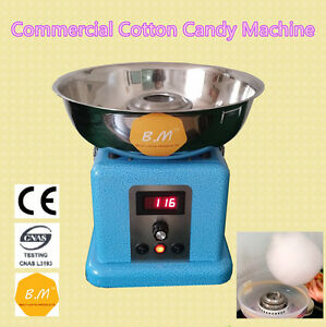 B m Cc 3901 Electric World s Smallest Commercial Cotton Candy Machine Cafeparty
