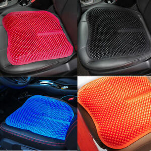 Massage High Memory Silicone Car Seat Covers Cushions Breathable Mesh Silica Gel