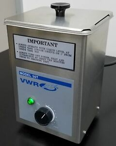Warranty Vwr Aquasonic 50t Desktop Ultrasonic Cleaner E3a