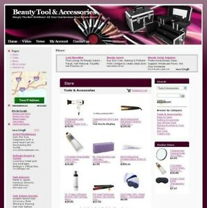 Established Online Beauty Care Tool Business Website For Sale Free Domain Name