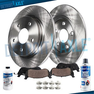 Rear Disc Brake Rotors Ceramic Pads 2011 2012 2013 2014 Ford Edge Lincoln Mkx