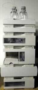 Hp Agilent 1100 Hplc Quat Dad System Tested G1311a G1315a W Pc chemstation