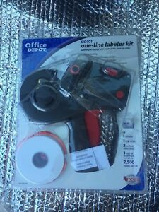 Office Depot Od101 One line Labeler Kit