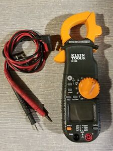 Klein Cl1000 400 Amp Ac Digital Clamp Meter With Leads