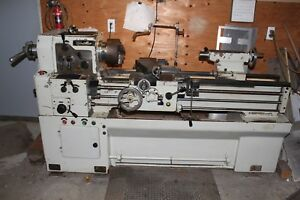 Cadillac Engine Lathe Model 1440 Threading includes 3 Jaw Chuck Collet Closer