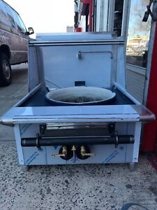 Single Hole 20 Or 22 Chinese Wok Range 18 Double Ring Burner Gas Aga