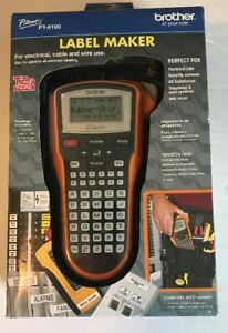 Label Maker Brother Contractor Laminated Print Printer Labeler P touch Pt 6100