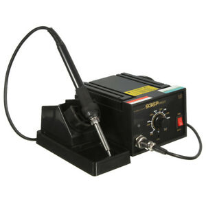 110v 220v Inverter Frequency Change Electric 936 Power Soldering Station Iron