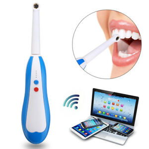 Wireless Oral Dental Wifi Intraoral Camera Endoscope Borescope 6pcs Led Light
