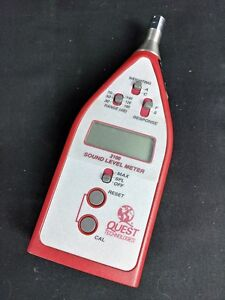 3m Quest Technologies 2100 Audio Sound Level Meter