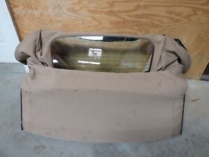 90 91 92 93 94 95 05 Mazda Miata Mx5 Sun Roof Convertible Soft T Top Glass Oem
