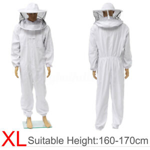 Beekeepers Protect Bee Jacket Keeping Suit Safe Veil Hat Body Equipment Hood Xl