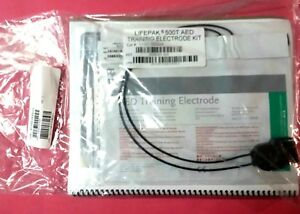 Medtronic Physio Control Lifepak 500t Aed Training Electrode Pouch Kit Sealed