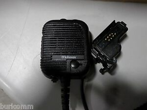 Ef Johnson 5100 Series Speaker Microphone With Emergency Button