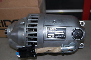 Repair Service Ridgid 300 Or 535 Pipe Threader Rigid Motor